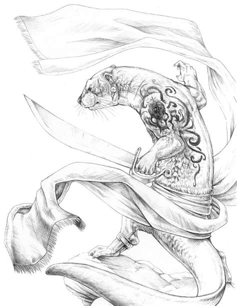 The Seafarer by `hibbary on deviantART (Redwall Series