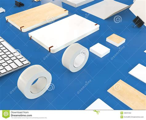 design mockup definition mockup business template stock illustration image 48031562