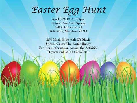 easter egg hunt template free hamilton lauraville news easter egg hunt at