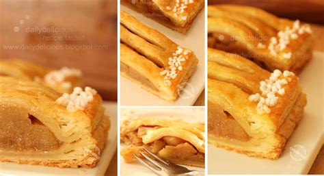 Jalousie Patisserie by Dailydelicious Apple Jalousie Heavenly Afternoon Treat