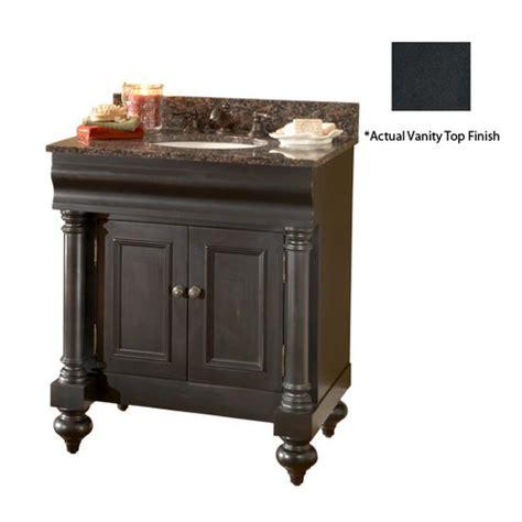 Black Distressed Bathroom Vanity Kaco 30 Quot Guild Single Vanity W Black Top Distressed Black 725 3000 B Ab J Keats