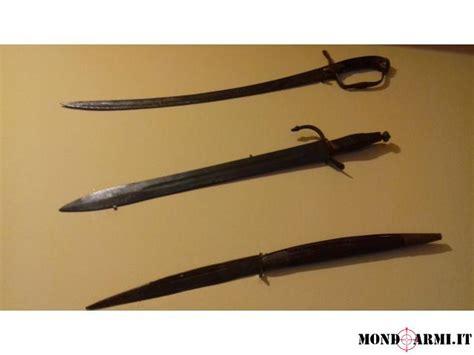porto d armi bianche spade e coltello
