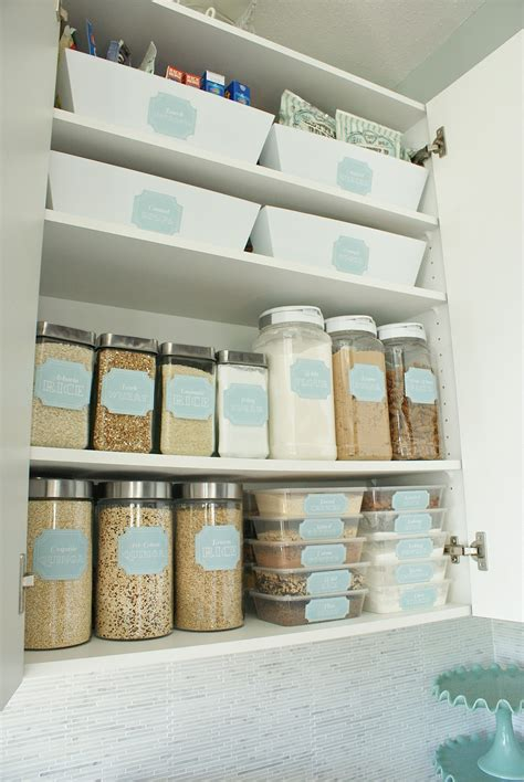 kitchen cabinet storage containers pantry pretty dollar store pantry makeover