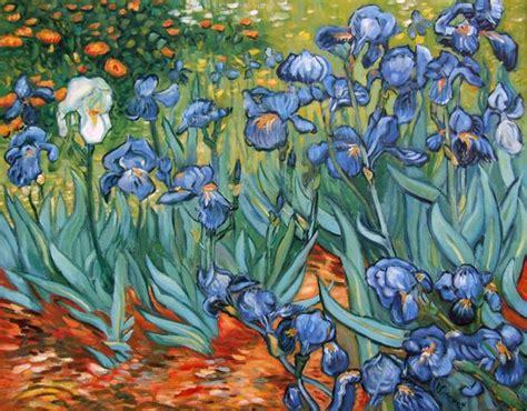 deco perete by arbex art decor picturi picturi celebre pictura pictura quot irisi quot reproducere van gogh