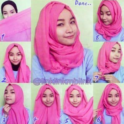 tutorial hijab simple untuk sehari hari 1000 images about hijab terbaru fashion dan aksesoris on