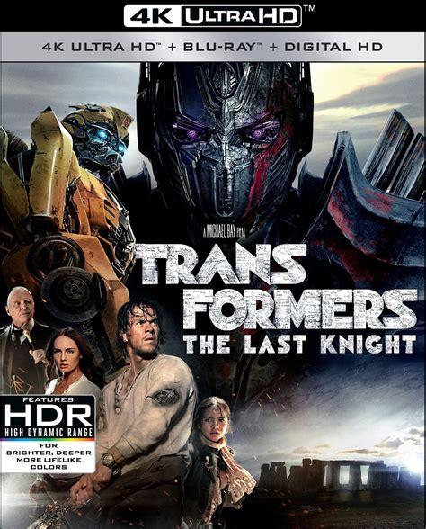 film blu ray 3d 4k transformers the last knight 4k and 3d blu ray