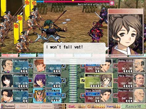 sengoku rance sengoku rance user screenshot 15 for pc gamefaqs