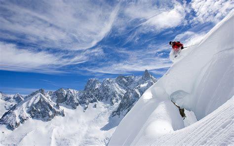 Buy Ski Lift Chair Downhill Skiing Desktop Wallpapers Free On Latoro Com
