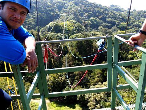 tarzan swing monteverde costa rica fly like superman and swing like tarzan in costa rica