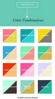 great colour combinations 25 best ideas about color combinations on pinterest