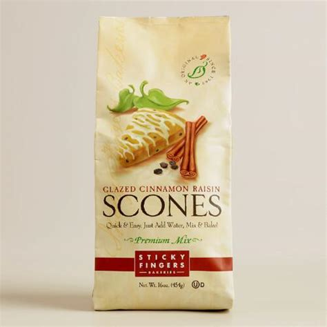 Promo Finger Vanilla sticky fingers bakeries vanilla cinn raisin scone set of 6 world market