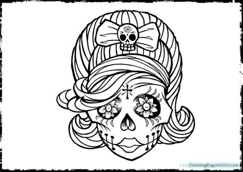 day of the dead cat coloring pages day of the dead cat adult coloring pages coloring pages