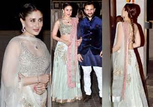 Apart from the bride her sister in law kareena kapoor hogged all the