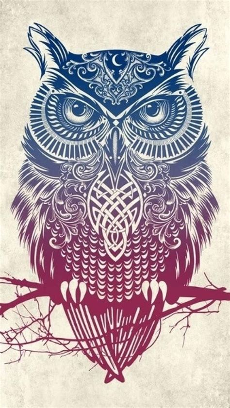 tribal pattern owl background top 25 ideas about owl wallpaper on pinterest