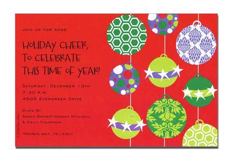 invitation christmas card