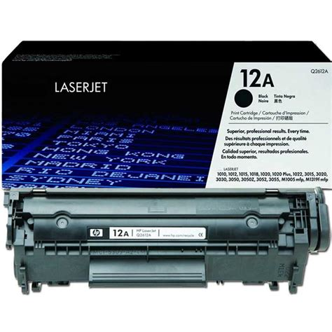 Toner Laserjet 12a hp 12a black original laserjet toner cartridge q2612a