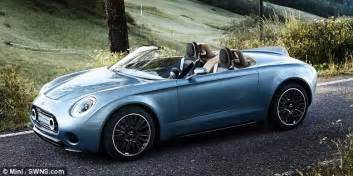 who makes the mini car mini superleggera vision sees mini team up with italian