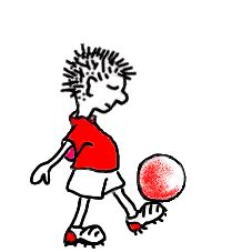 wallpaper animasi club bola gambar animasi main bola bergerak kartun sepakbola lucu