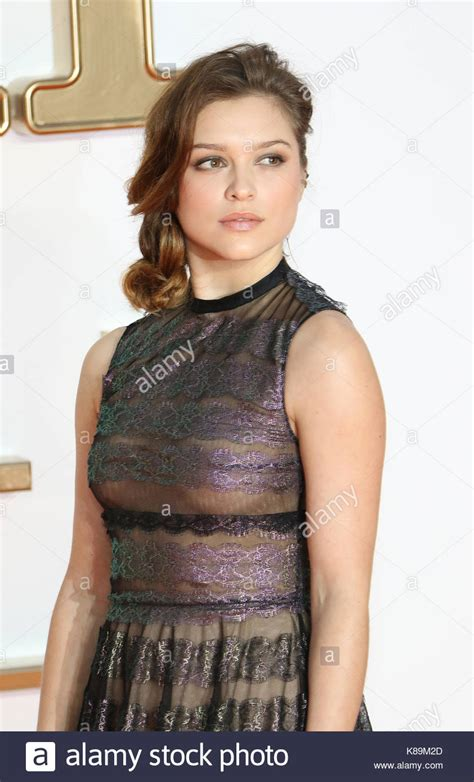 sophie cookson tall london uk 18th sep 2017 sophie cookson kingsman the