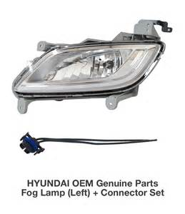 Oem Hyundai Parts Oem Genuine Parts Fog L Light Lh Connector For