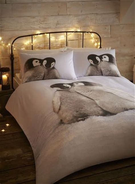 Penguin Bed Set Cosy Cotton Penguin Bedding Set Penguins For The House Pinterest Ash To And December