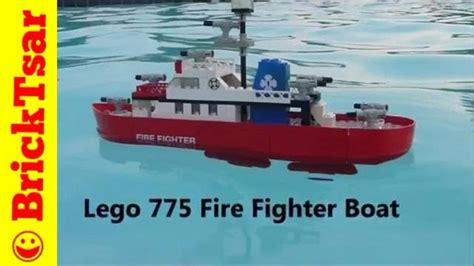 lego boat vintage lego 775 fire fighter boat 1977 really floats vintage set