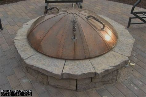 Metal Fire Pit Covers Fire Pit Ideas Metal Pit Cover