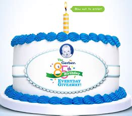 Gerber Sweepstakes - gerber 85th birthday party giveaway sweepstakes