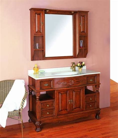 china solid wood bathroom vanity cw861cs china