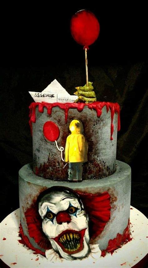 image result  pennywise cake scary halloween cakes