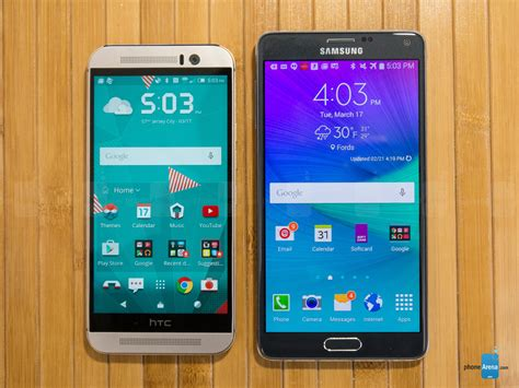 Samsung Galaxy Note 5 Hdc samsung galaxy note 4 vs htc one m9 which phone is faster