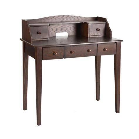 Espresso Desk by Shop Boston Loft Furnishings Espresso Writing Desk At