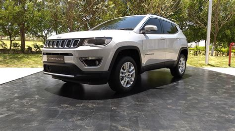 Jeep India Made In India Jeep Compass Revealed Throttle Blips