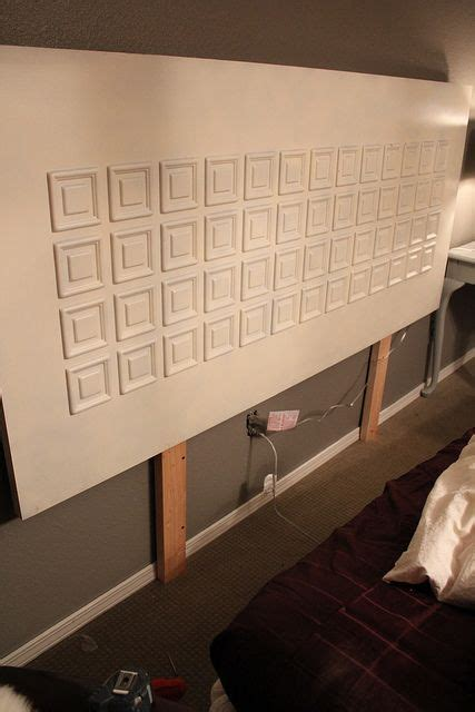 how to hang a door as a headboard how to hang a headboard and looking at this one