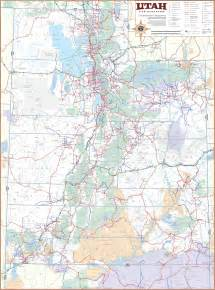 Utah Map With Cities by Map Of Utah 100 More Photos