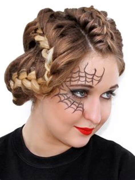 halloween hairstyles step by step halloween hair on pinterest 31 pins