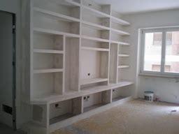 mensole in cartongesso prefabbricate mobili ingresso libreria in cartongesso mensole