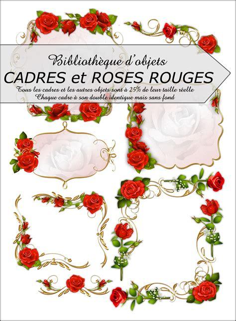 biblioth 232 que d 233 corations cadres et roses rouges