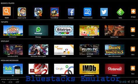 best emulator top 5 best android emulators for pc on windows 10 8 8 1 7