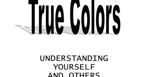 true colors quiz true colors quiz best 25 true colors personality test