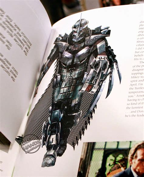 libro ultimate robot new teenage mutant ninja turtles concept art reveals