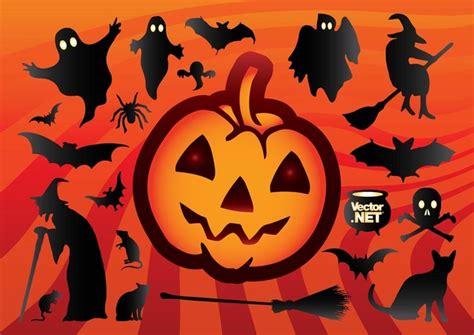 imagenes de halloween viros animados silueta de dibujos animados de halloween descargar