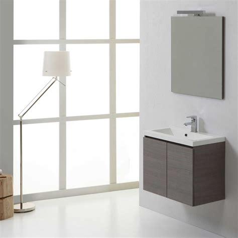 mobile bagno grigio mobile bagno 60 cm in finitura grigio modello manhattan