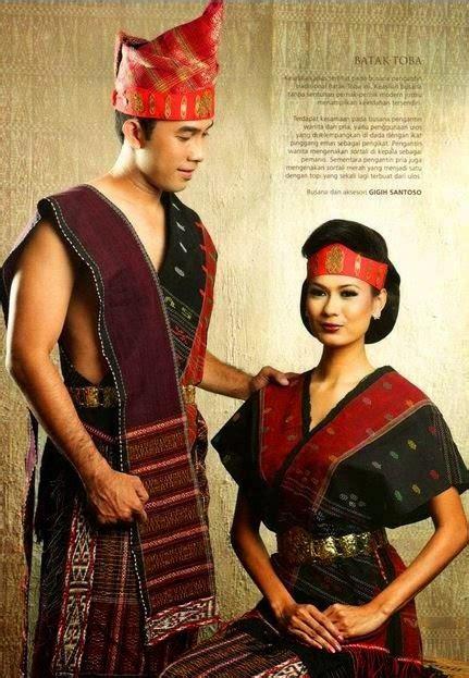 Baju Nikah Adat Batak 10 baju adat sumatera utara