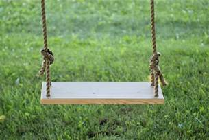 To Swing Diy Tree Swing 187 The Merrythought