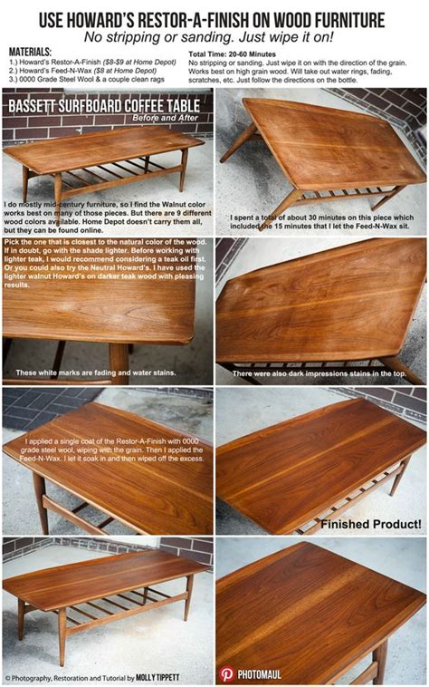 mid century modern furniture restoration diy restore wood furniture fast cheap and easy wood