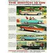1957 Chrysler All Makes Advertisement  CLASSIC CARS TODAY