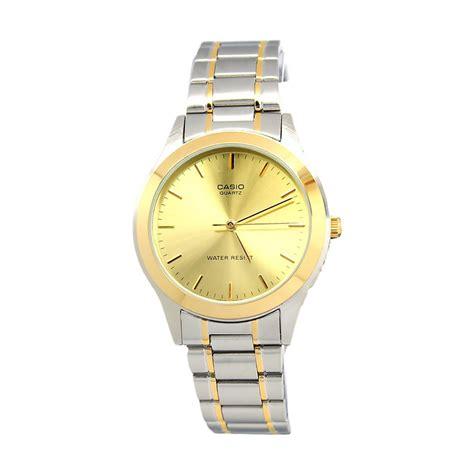 Casio La201w1b Jam Tangan Wanita jual casio analog ltp 1128g 9a jam tangan wanita