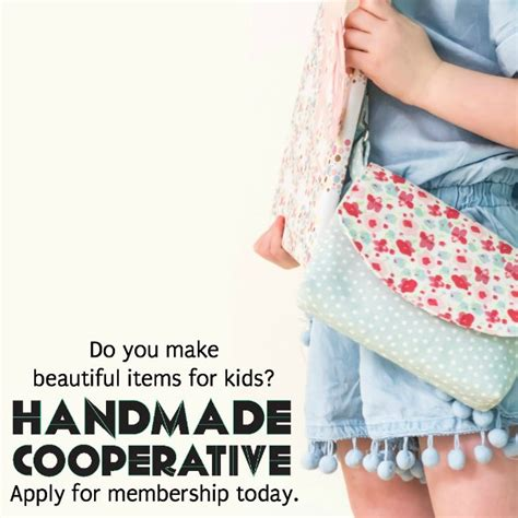 Handmade Cooperative - membership drive join the handmade cooperative handmade