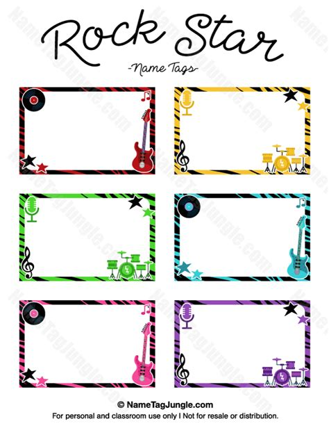 the rock template pdf free printable rock name tags the template can also